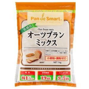 鳥越製粉 低糖質オーツブランミックス 1kg|kenko-departs