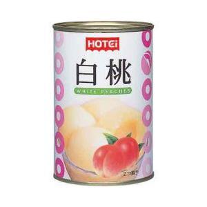 ホテイフーズ フルーツ缶詰 白桃 4号缶 425g 業務用
