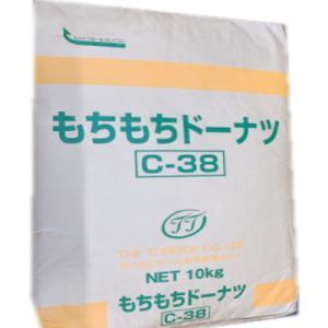 鳥越製粉 C-38 もちもちドーナツミックス 10kg|kenko-departs