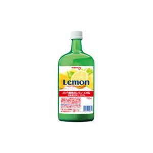 ポッカ レモン 100%果汁 720ml|kenko-departs