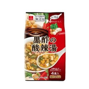アスザックフーズ 黒酢の酸辣湯 4食 フリーズドライ ドライフード インスタント食品 乾燥食品|kenko-ex