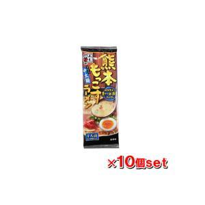 五木食品 熊本もっこすラーメン 123g x10個セット|kenko-ex