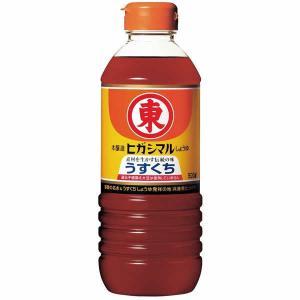 ヒガシマル醤油 うすくちしょうゆ 500ml PET