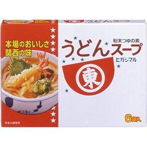 ヒガシマル醤油 うどんスープ 6袋