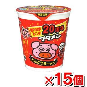 おやつカンパニー ブタメン とんこつ味x15個|kenko-ex