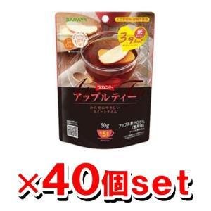 【送料無料/代引き無料】サラヤ ラカント 粉末アップルティー 50g x40個セット(低糖質 ロカボ)|kenko-ex