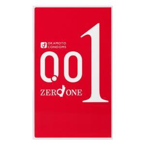 【ゆうパケット配送対象】オカモト ゼロワン(001) 3個入り [okamoto][コンドーム][0.01ミリ](ポスト投函 追跡ありメール便)|kenko-ex