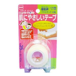 優肌絆 肌にやさしいテープ プラスチック 太幅 25mm*4.5m