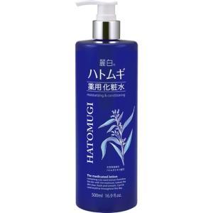 熊野油脂 麗白 ハトムギ薬用化粧水 500ml