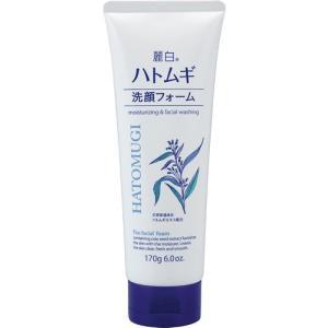 熊野油脂 麗白 ハトムギ洗顔フォーム 170g
