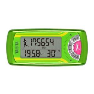 [タニタ]活動量計 カロリズムfor JOGGING EZ-063 メタリックグリーン|kenko-ex