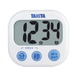 【ゆうパケット配送対象】[タニタ]デジタルタイマー でか見えタイマー TD-384 ホワイト(ポスト投函 追跡ありメール便) kenko-ex