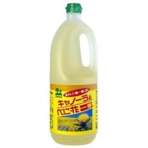 創健社 キャノーラ&べに花一番 1500g|kenko-ex