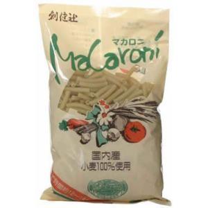 創健社 国内産小麦100%使用 ショートパスタ 300g|kenko-ex