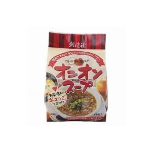 創健社 オニオンスープ フリーズドライ 6gx4袋 自然食品 美容 ヘルシー食材|kenko-ex
