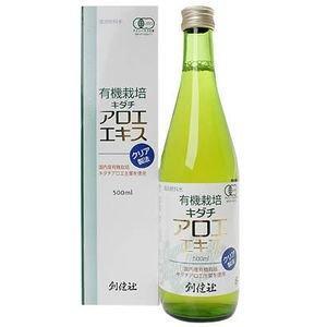 創健社 有機栽培 キダチアロエエキス 500ml|kenko-ex