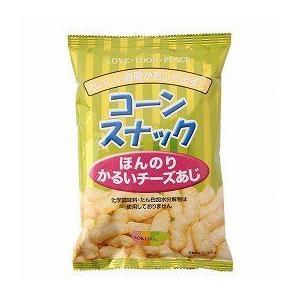 創健社 コーンスナック ほんのりかるいチーズあじ 50g|kenko-ex