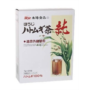 太陽食品 ほうじハトムギ茶 純 7gx24 kenko-ex