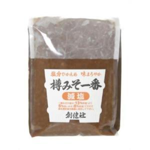 創健社 樽みそ一番 (減塩) 1kg kenko-ex