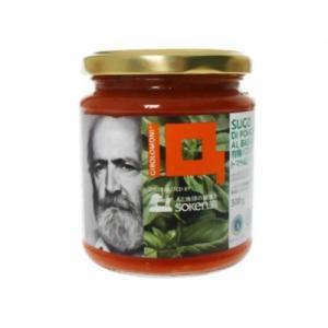 創健社 ジロロモーニ 有機パスタソース トマト&バジル 300g|kenko-ex