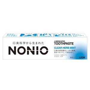 ライオン ノニオ NONIO ハミガキ クリアハーブミント 30g (ゆうパケット配送対象)