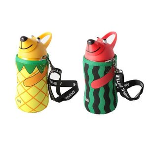 【限定品】サーモマグ thermo mug アニマルボトル トロピカル AM18TP9S サーモマグ/アニマルボトル/水筒/子供/お弁当|kenko-ex