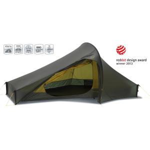 【国内正規品】NORDISK テント Telemark 2 ULW (テレマーク2 ULW)フォレスト・グリーン[151005](ノルディスク 2人用)|kenko-ex