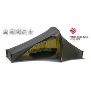 【国内正規品】NORDISK テント Telemark 2 LW (テレマーク2 LW)フォレスト・グリーン[151006](ノルディスク 2人用 ティーレルマーク)|kenko-ex