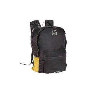 【在庫限り!大特価】[国内正規品]NORDISK ポケッタブルバッグ Ribe 20L(リべ)Yellow/Black[133018] ノルディスク バックパック リュック|kenko-ex