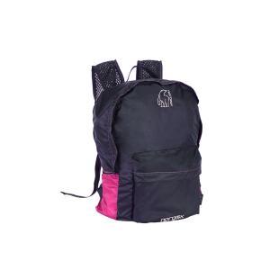 【在庫限り!大特価】[国内正規品]NORDISK ポケッタブルバッグ Ribe 20L(リべ)Pink/Black[133018] ノルディスク バックパック リュックサ|kenko-ex