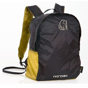 【在庫限り!大特価】【国内正規品】NORDISK ポケッタブルバッグ Nibe 12L(ニベ)Yellow/Black[133019](ノルディスク バックパック リュック|kenko-ex