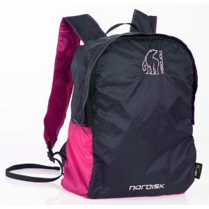 【在庫限り!大特価】[国内正規品]NORDISK ポケッタブルバッグ Nibe 12L(ニベ)Pink/Black[133019] ノルディスク バックパック リュックサ|kenko-ex
