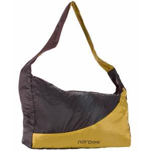 【在庫限り!大特価】[国内正規品]NORDISK ポケッタブル ショッピングバッグ Malme 25L(マルメ)Yellow/Black 133083【送料無料】|kenko-ex
