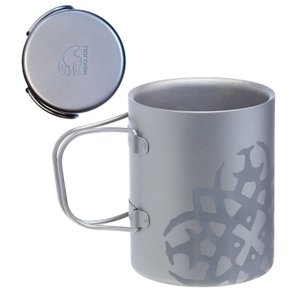 【在庫限り!大特価】ノルディスク チタニウム ダブルウォール マグカップ 220ml NORDISK Titanium Mug Double-Wal