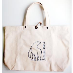 【在庫限り!大特価】[国内正規品]NORDISK バッグ Tote Cotton Bag トート・コットン・バッグ [143003]ノルディスク トートバッグ|kenko-ex