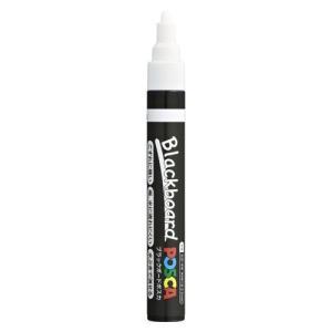 三菱鉛筆 ブラックボードポスカ 中字 白 1 PCE2005M1P.1 (ゆうパケット配送対象)