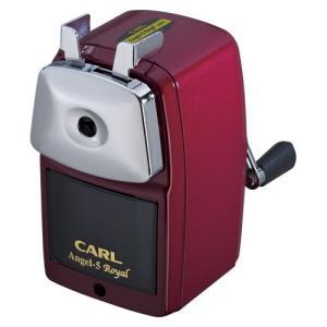 [カール事務器] 鉛筆削器 エンゼル5 ロイヤル レッド A5RY-R