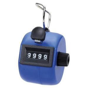 岡本製図器械 数取器手持型プラスチック製 ブルー 75090|kenko-ex