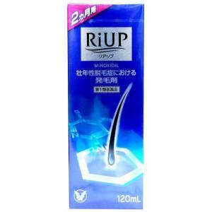 大正製薬 リアップ 120ml(RiUP 120ml/ミノキシジル1%)(*薬剤師からの問診メールに返信が必要となります*) (第1類医薬品)|kenko-ex