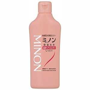 ミノン 薬用ヘアシャンプー 120ml[医薬部外品] [MINON] kenko-ex