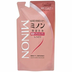 ミノン 薬用ヘアシャンプー つめかえ用 380ml[医薬部外品] [MINON] kenko-ex