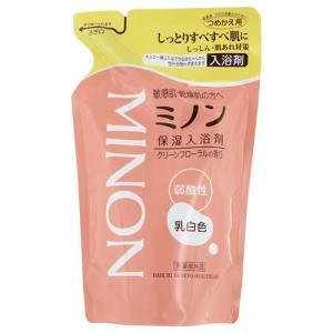 ミノン 薬用 保湿入浴剤 詰替用400mL[MINON]【医薬部外品】 kenko-ex