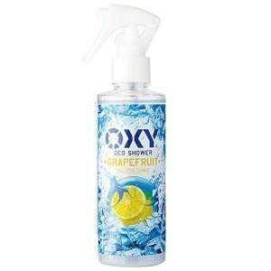 ロート製薬 オキシー(OXY) 冷却デオシャワー グレープフルーツの香り 200ml(男性化粧品 冷却 デオドラント)|kenko-ex