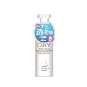 ロート製薬 オキシー(OXY) ホワイトウォッシュ泡タイプ 130ml(男性化粧品 洗顔フォーム)|kenko-ex
