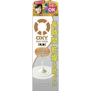 ロート製薬 オキシー(OXY) ミルキーローション 170ML (男性化粧品 乳液)|kenko-ex