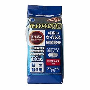 イソジン除菌ウエットシート100枚入り詰替用 アルコールタイプ kenko-ex