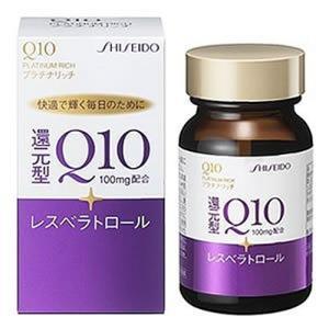 資生堂薬品 Q10プラチナリッチ 60粒|kenko-ex