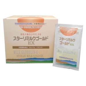 スターリミルクゴールドEX(イーエックス) 21.1g×30袋 兼松ウェルネス 免疫ミルク 健康食品...