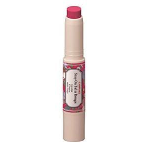 ●リップバームの保湿力・口紅の発色・グロスのツヤ・UVカットすべてを兼ね備えた発色リップスティック&...