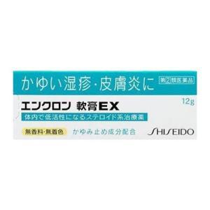 【第(2)類医薬品】【ゆうメール便!送料80円】資生堂 エンクロン軟膏EX 12g【SM】|kenko-ex